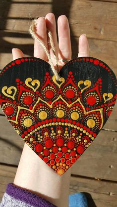 """Excellent """"metal tree wall art hobby lobby"""" information is offered on our internet site. Dot Art Painting, Heart Painting, Painting On Wood, Mandala Art, Mandala Painting, Painted Wood Walls, Painted Rocks, Hand Painted, Metal Tree Wall Art"""