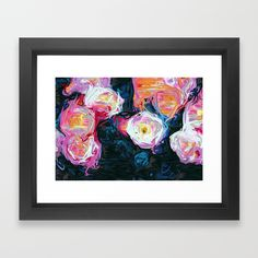 Buy Flowerella Framed Art Print by 83oranges. Worldwide shipping available at Society6.com. Just one of millions of high quality products available.