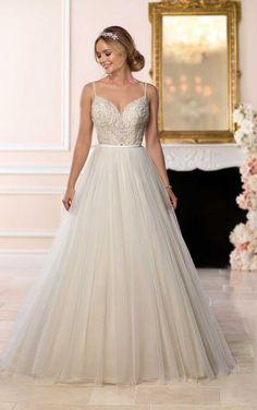 6636 Backless Ballgown Wedding Dress by Stella York