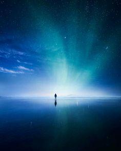 Permite que el silencio te lleve al centro de la vida   ~Rumi~