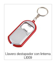 Llavero Destapador con Linterna Ll009