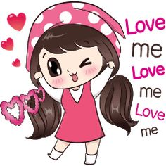 My name is Boobib. I like power magic love. Let enjoy with my lovely stickers. Love Cartoon Couple, Cute Cartoon Girl, Cute Love Cartoons, Chibi Couple, Cute Love Pictures, Cute Cartoon Pictures, I Miss You Cute, Line Friends, Love Stickers