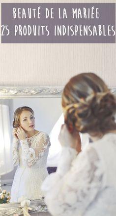 La mise en beauté le jour de votre mariage est aussi importante que votre robe de mariée. On vous donne tous les conseils pour vous chouchouter avant le mariage et être la plus belle le jour J. Soin du corps et du visage, maquillage de mariée, coiffure de mariée et beauté des mains, découvrez les 25 produits indispensables pour une future mariée.