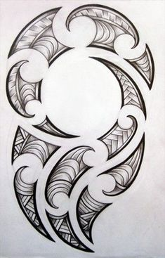 [fineliner + pencil - August Maori-inspired design for my brother's tattoo. Maori design for my brother Maori Tattoos, Maori Tattoo Frau, Ta Moko Tattoo, Filipino Tattoos, Samoan Tattoo, Body Art Tattoos, Tattoo Drawings, Sleeve Tattoos, Borneo Tattoos