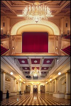 The Music Hall's beautiful interior by J. Miles Wolf - Cincinnati Photography