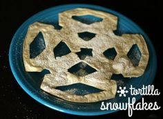 5 Family-Friendly Winter Activities: Tortilla Snowflakes