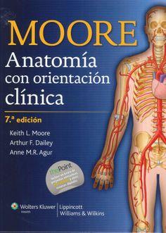 Anatomía con orientación clínica / Keith L. Moore, Arthur F. Dalley, Anne M. R. Agur. Wolters Kluwer, 2013.--------------------------- Bibliografía recomendada en : ANATOMÍA XERAL E DO APARATO LOCOMOTOR, Grao de Medicina (1º) Locomotor
