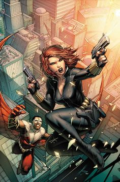 A former KGB agent Natasha Romanova, better known as Black Widow, is one of the best agents S. She's a longtime member of the Avengers as well as the leader of the short-lived Los Angeles-based superhero team called the Champions. Marvel Dc Comics, Marvel Avengers, Comics Anime, Comic Manga, Marvel Now, Bd Comics, Marvel Girls, Marvel Heroes, Black Widow