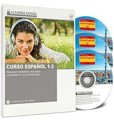 Deal des Tages Audiosprachkurs Spanisch = Angebot 51% Geld sparen ...  Academia España Curso Español I, II und III - Spanisch Audiosprachkurs für Anfänger und Fortgeschrittene Academia España http://www.amazon.de/dp/B00MALLI30/ref=cm_sw_r_pi_dp_DOMbxb0JV4HHG