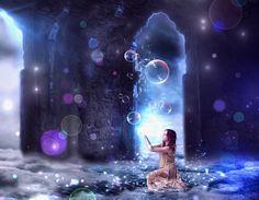 """ph. © Armando Cantu Guerra """" La niña de las burbujas """""""