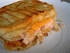 Vegan Monte Cristo Sandwich with Chive Talkin' Potato And Pea Salad