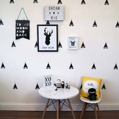 Tent Shape Wall Decal