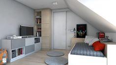 Pokój dziecka / dom jednorodzinny. - Pokój dziecka, styl nowoczesny - zdjęcie od A2 STUDIO pracownia architektury