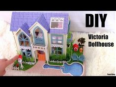 DIY Miniature Dollhouse with Full Furniture Sets&Lights | DIY Room Decor - YouTube