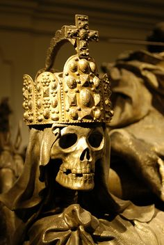 Kaisergruft - Imperial Crypt in Vienna, Austria.