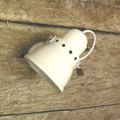 Small White Lathe Lamp