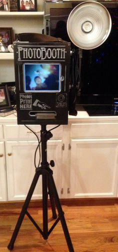 how to set up a photo booth with ipad