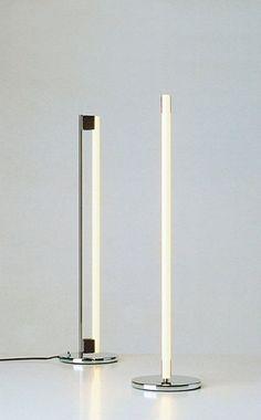 New lighting and decor from castor pinterest bulbs fields and tube light floor lamp designed by eileen gray 1927 aloadofball Images