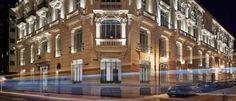 URSO Hotel & Spa El primer hotel boutique 5 estrellas de Madrid se ubica en un palacio de 1915 con 78 habitaciones confortables.