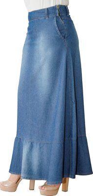 SR5014 - Saia Longa Jeans