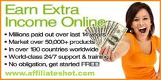 FREE Internet Business Course - $295 Value!  Free Internet business, training, and support. Multiple income streams. Residual and leveraged income; 95% of the work is automated. Visit www.affiliateshot.com for complete details today.