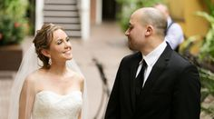 Beautiful wedding shot at Hotel Mazarin, one of our French Quarter hotels.  Upbeat Southern Garden Fête | New Orleans, LA