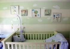 Project Nursery - feature wall
