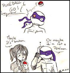TMNT - Pokeball go!