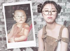 WheeIn (휘인) Past and Present Moosical Curtain Call 2017 Postcard