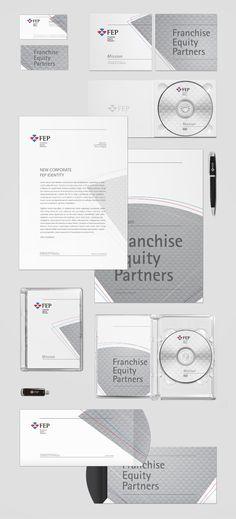 corporate identity / FEP Franchise Equity Partners by karol mizdrak