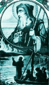 """St. Brendan the Navigator: Today is the feast of St. Brendan called """"the Navigator"""", """"the Voyager"""", or """"the Bold"""". He is one of the early Irish monastic saints and chiefly renowned for his legendary quest to the """"Isle of the Blessed,"""" also called Saint Brendan's Island. He was one of the Twelve Apostles of Ireland. #Catholic #Pray"""
