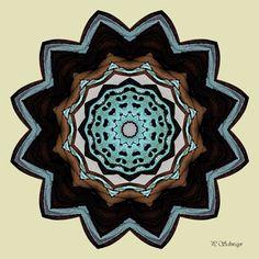 Mandala ''Schmetterling'' Kreatives by Petra Flyer, Petra, Canon, Photoshop, Butterfly, Mandalas, Macro Photography, Mosaics, Canvas