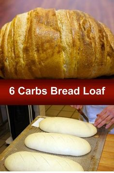 6 Carbs Bread Loaf Recipe | Blog