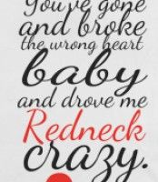 Redneck Crazy, You Drive Me Crazy!