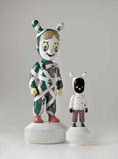 The Guest by Jaime Hayon for lladro Art Jouet, Gary Baseman, Mickey House, Misfit Toys, Designer Toys, Kids Prints, Ceramic Art, Wood Art, Art Dolls