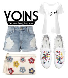 """Untitled #49"" by jaasmina-86 ❤ liked on Polyvore featuring Frame and Joshua's"