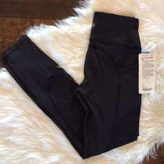 Lululemon All in the Right Places Pant Lululemon All in the Right Places Pant. Size 6. Black NWT! lululemon athletica Pants Leggings