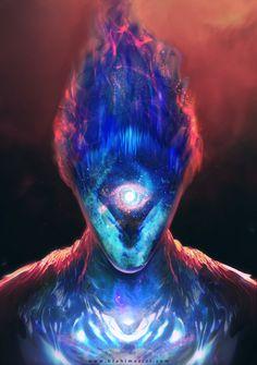 "ArtStation - ""supernova"" Alien Design, brahim azizi"