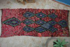 Authentic Moroccan carpet 90x230 cm ref IH17-02