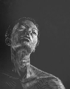 Image detail for -Scratchboard Art Examples : Art And Illustration, Gravure Illustration, Art Inspo, Kunst Inspo, Art Scratchboard, Linocut Prints, Art Prints, Block Prints, Portfolio D'art