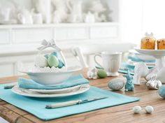 Easter Joy in Aqua