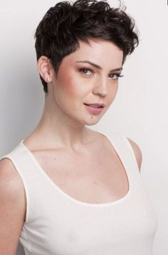 The best collection of Short Curly Pixie Haircuts latest and best short curly pixie hairstyles, short curly hairstyles 2018 Short Curly Pixie, Curly Pixie Hairstyles, Short Hairstyles For Thick Hair, Haircuts For Curly Hair, Short Pixie Haircuts, Curly Hair Cuts, Curly Hair Styles, Natural Hairstyles, Wavy Pixie Haircut