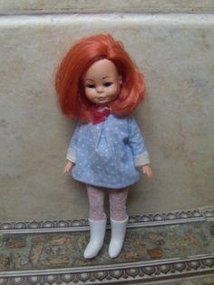 Boneca Antiga Valentina Estrela 4 Mini Doll Cabelo Cereja - R$ 600,00 no…