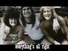 Ozzy Osbourne -Old L.A. Tonight+Lyrics music video with lyrics. Ozzy live on!!!
