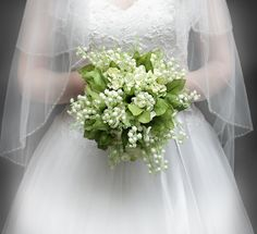 wedding bouquets - lilly valey | Wedding Flowers - Bridal Bouquet of Lily of the Valley and Hydrangea ...