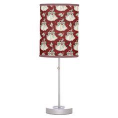 Christmas Holiday Bells Design 8 Lamp