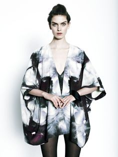 Kimono & robe en soie