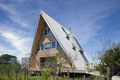 Дом шалаш или А-образный  дом - особенности | ImhoDom.Ru - Сибирское Домовладение