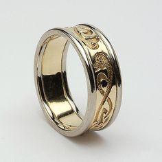 Grainne Celtic Wedding Ring (C-57)
