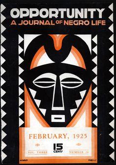 Aaron Douglas (1899-1979) Opportunity 1925
